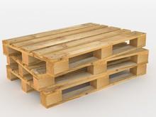 3 Gestapelte Holzpaletten