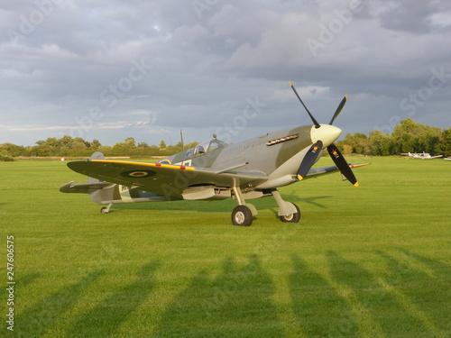 Fotografie, Obraz Supermarine Spitfire