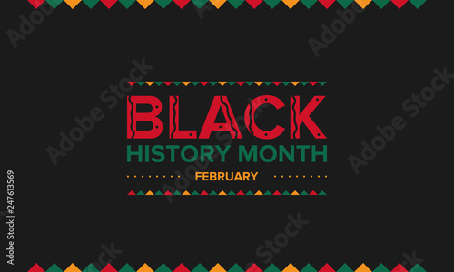 African American History or Black History Month Wallpaper Mural