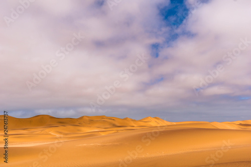 Cadres-photo bureau Desert de sable Dünen in der Wüste von Swakopmund