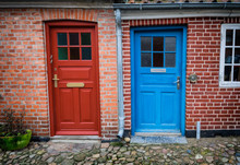 Traditional Colorful Door In O...