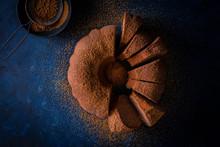 Sliced Spice Cake