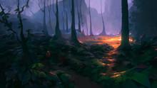 Dark Wood Concept Environment
