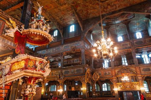 Kościół Pokoju w Świdnicy - fototapety na wymiar
