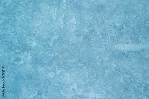 Printed kitchen splashbacks Glaciers Texture of blue decorative plaster.