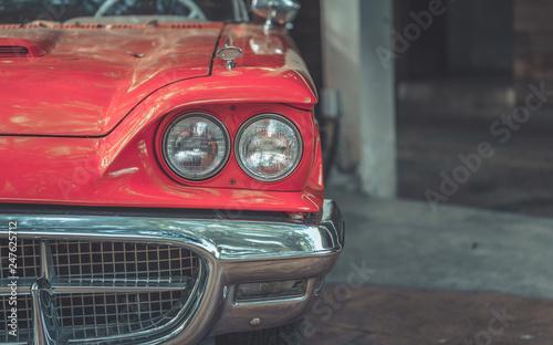 In de dag Vintage cars Retro Car Collection