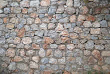 Wall Of A Large Stone, A Textu...