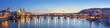 Leinwanddruck Bild - Panoramic View of Charles Bridge - Prague, Czech Republic
