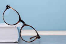 Glasses With Book Education An...