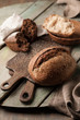canvas print picture - Baked bread assortment