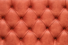 Red Textile Upholstery Background
