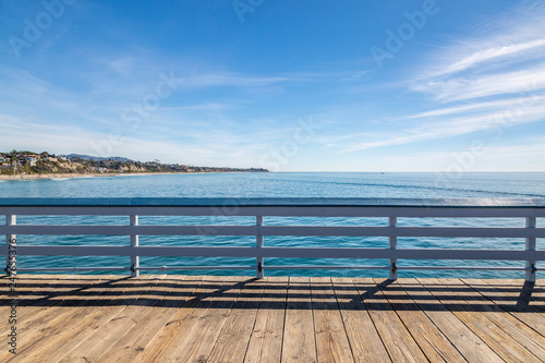 A View from San Clemente Pier, Southern California Wallpaper Mural