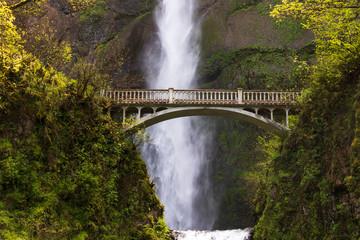 Multnomah Falls near the bridge