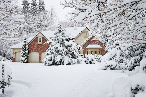 Photo Winter snowstorm brings unexpected white blanket to Western Washington