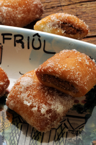Fotografie, Obraz  Strucchi Cucina friulana ft8102_5973 Struccoli Italia Gubana Italian cuisine