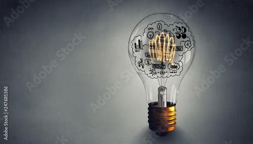 Obraz Great idea for success - fototapety do salonu
