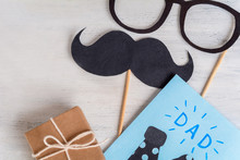 Photo Booth Mustache And Fathe...