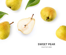 Creative Layout Made Of Pear O...