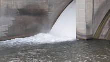 Gallons Of Dam Water Being Rel...