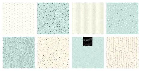 Set abstrakcjonistyczni kwadratowi tła i nakreślenie kropek tekstury.