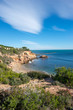Views of the coast of Ametlla on the Costa Daurada