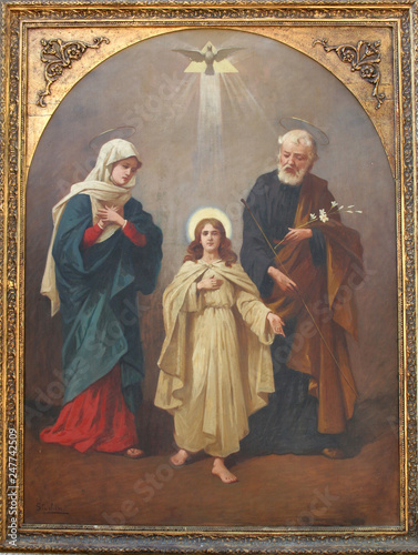Carta da parati Holy Family