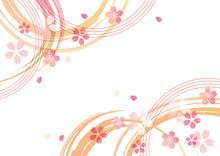 桜和風 柄