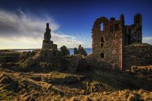Castle Sinclair Girnigoe, Eastern Coast Of Highlands.