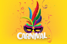 Carnival Mask. Happy Festive C...