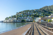 Wooden Pier Of Sausalito Near ...