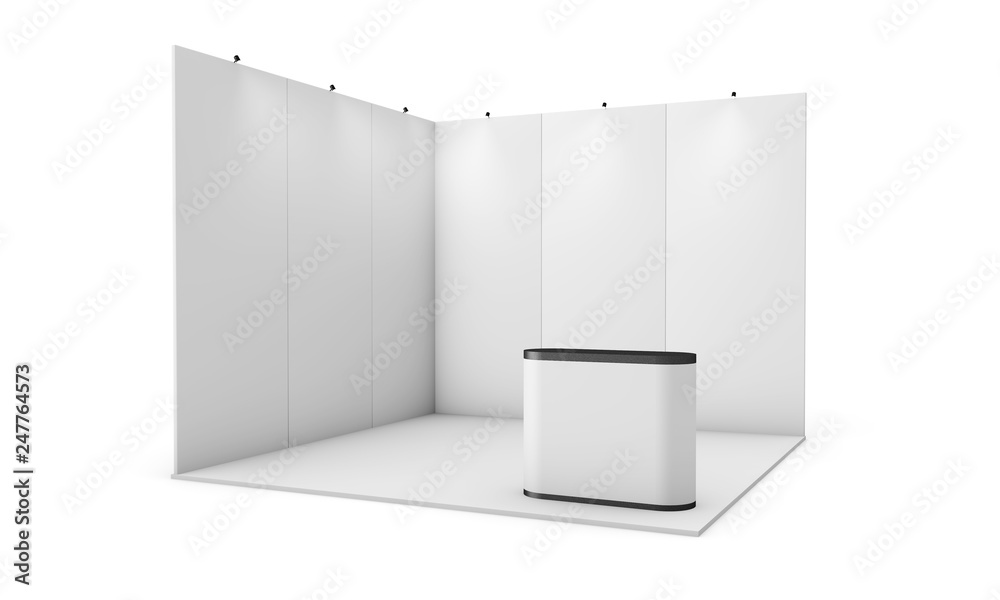 Fototapeta exhibition booth