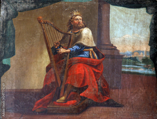 King David Canvas