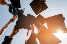 Black Hat Of The Graduates Flo...