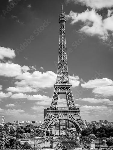 Fototapeta Paryż wieża Eiffla obraz