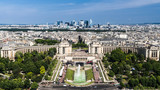 Fototapeta Londyn - Paryż panorama