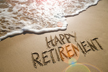Happy Retirement Message Handw...