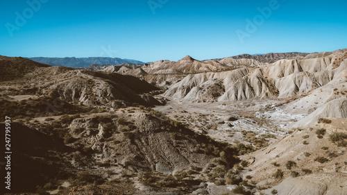 Desierto de Tabernas Canvas Print