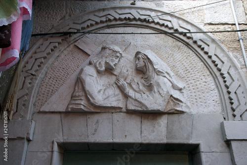 Via Dolorosa, 4th Stations of the Cross Wallpaper Mural
