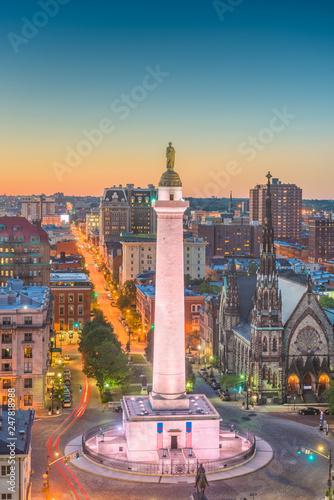 Baltimore, Maryland, USA Canvas-taulu