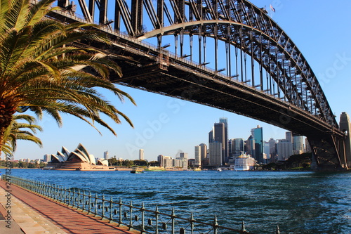 Obrazy Sydney  sydney-harbour-bridge-o-zachodzie-slonca-australia