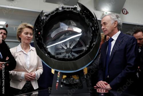 German Minister of Defence Ursula von der Leyen visits