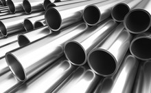 Set Of Steel Pipes.