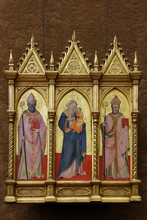 Madonna And Child With St. Ambrose And Augustine