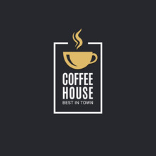 Coffee Cup Logo. Coffee House ...