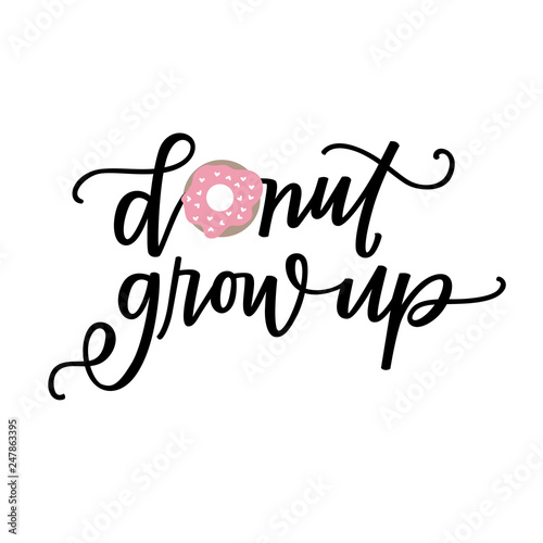 Carta da parati Donut Grow Up