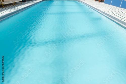 Photo  Clean Pool Symmetrical