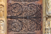 Intricate Wrought Iron Vintage...
