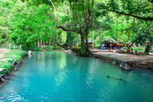 The Famous Blue Lagoon In Vang...