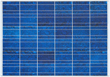 Blue Solar Cell Panels Surface...