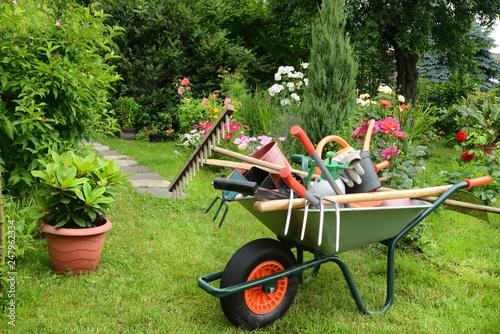 Obraz Garten 867 - fototapety do salonu